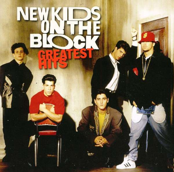 New Kids On The Block Greatest Hits Album Cover