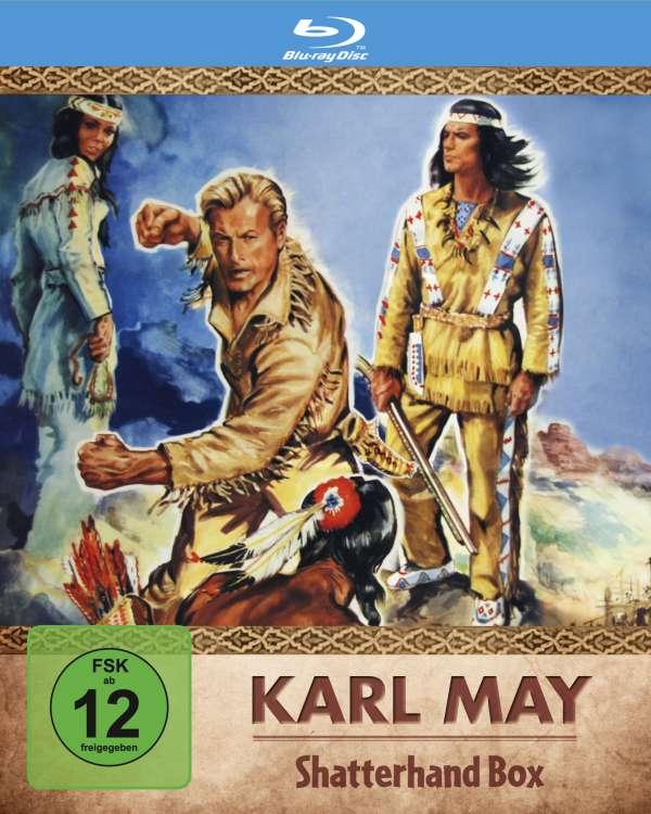 Karl May Shatterhand Box Blu Ray Jpc