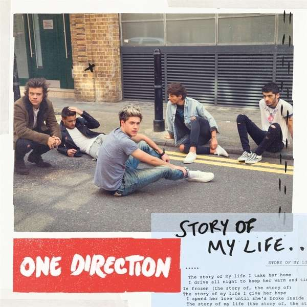 One Direction Story Of My Life Maxi Cd Jpc