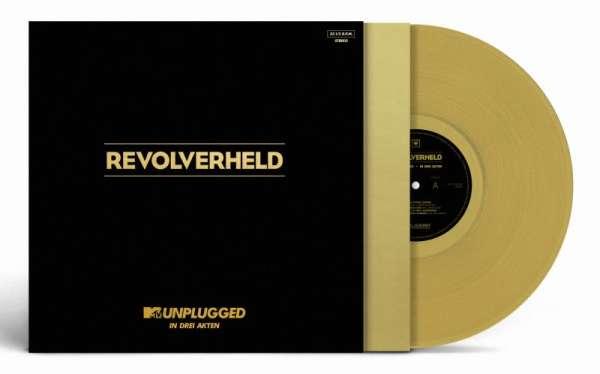 revolverheld mtv unplugged in drei akten 180g limited edition golden vinyl 2 lps jpc. Black Bedroom Furniture Sets. Home Design Ideas