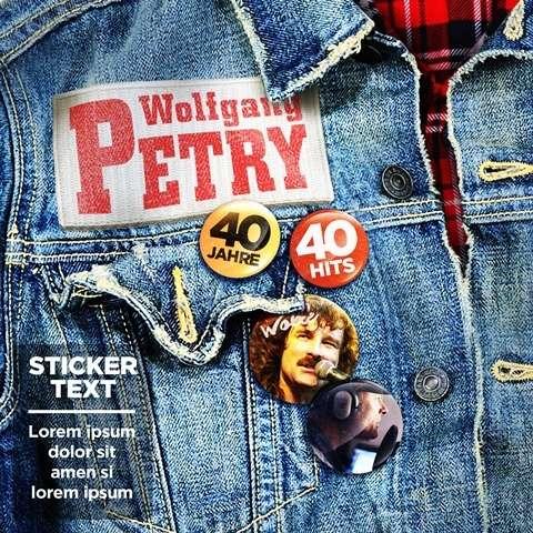 Wolfgang Petry 40 Jahre 40 Hits 2 Cds Jpc