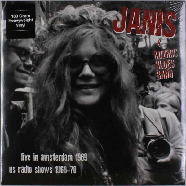 Janis Joplin (1943-1970): Live In Amsterdam Apr.11 '69 + US Radio Shows '69-'70 (180g), LP