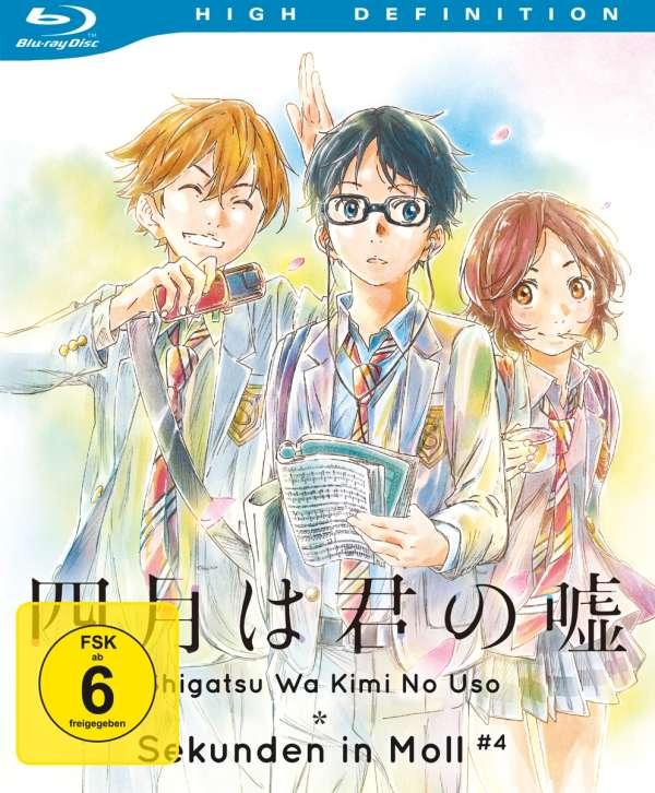 Shigatsu Wa Kimi No Uso Sekunden In Moll Vol 4 Blu Ray