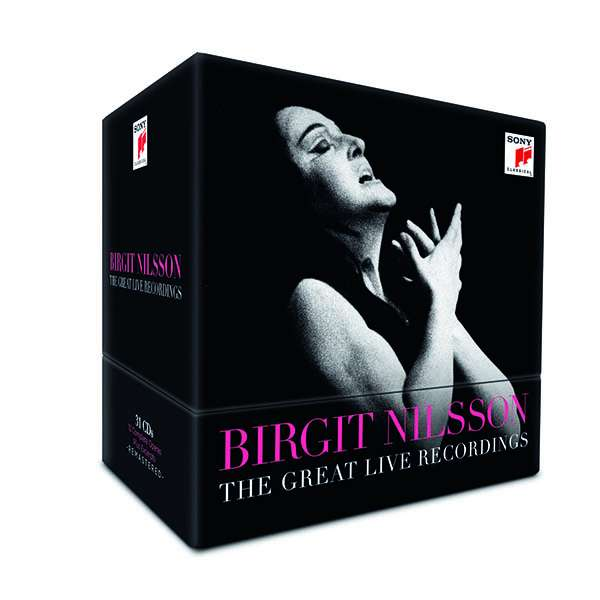 Birgit Nilsson - The Great Live Recordings, 31 CDs
