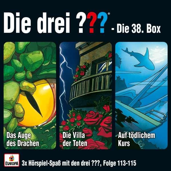 Die Drei Box 38 Folgen 113 115 Drei Fragezeichen 3 Cds Jpc