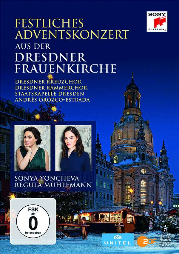 Festliches Adventskonzert Aus Der Dresdner Frauenkirche 2016 Dvd Jpc