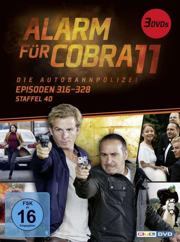Alarm Für Cobra 11 Staffel 40 3 Dvds Jpc