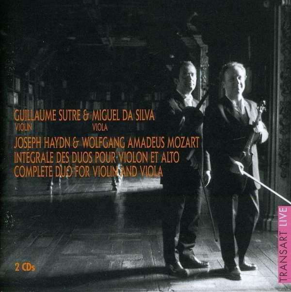 Guillaume Sutre & Miguel Da Silva - Duos für Violine & Viola (2 CDs ...