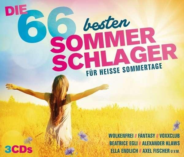 Die 66 besten Sommer Schlager (3 CDs) – jpc