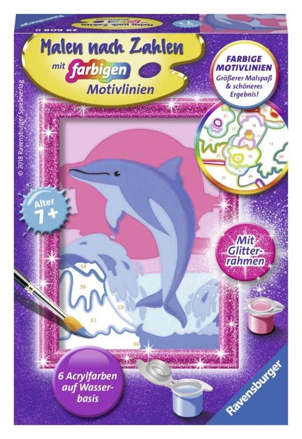 delfin malen kinder
