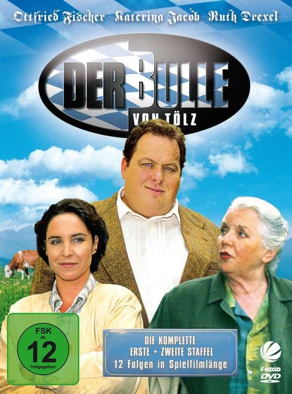 Der Bulle von Tölz Staffel 1+2, 6 DVDs