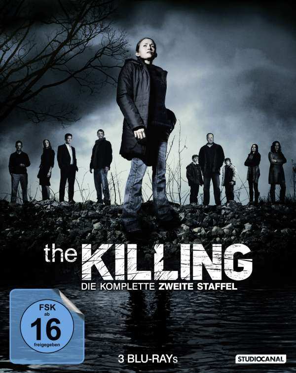 The Killing Season 2 Blu Ray