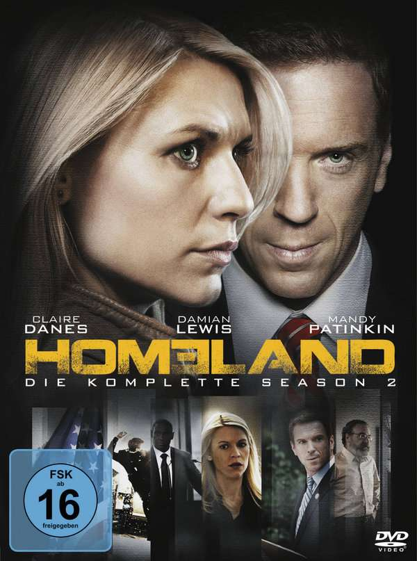 Homeland Staffel 2 4 Dvds Jpc