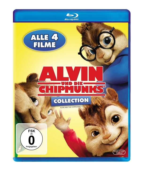 Alvin Und Die Chipmunks 1 4 Blu Ray Jpc