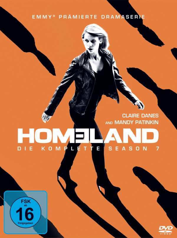 Homeland Staffel 7 4 Dvds Jpc