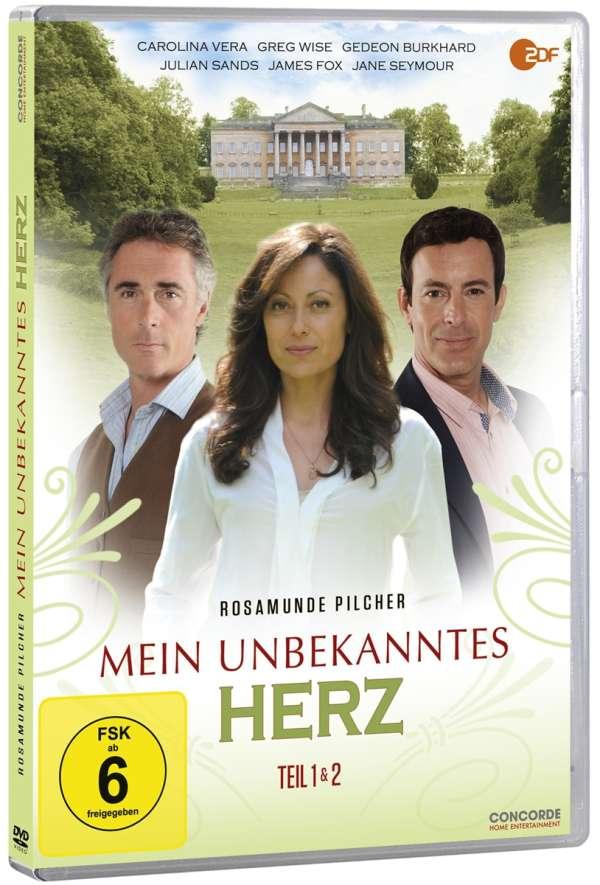 Rosamunde Pilcher Mein Unbekanntes Herz Teil 1 2 Dvd Jpc