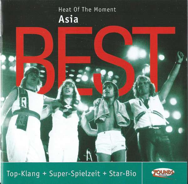 Asia: Heat Of The Moment: Best (CD)