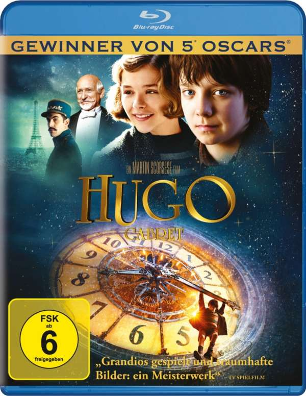 Hugo 2011 BluRay 720p 850MB Dual Audio ( Hindi – English ) ESubs MKV
