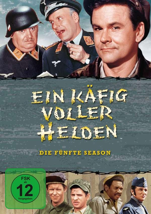 Ein Käfig Voller Helden Season 5 4 Dvds Jpc