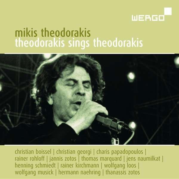 Mikis Theodorakis Theodorakis Sings Theodorakis Cd Jpc