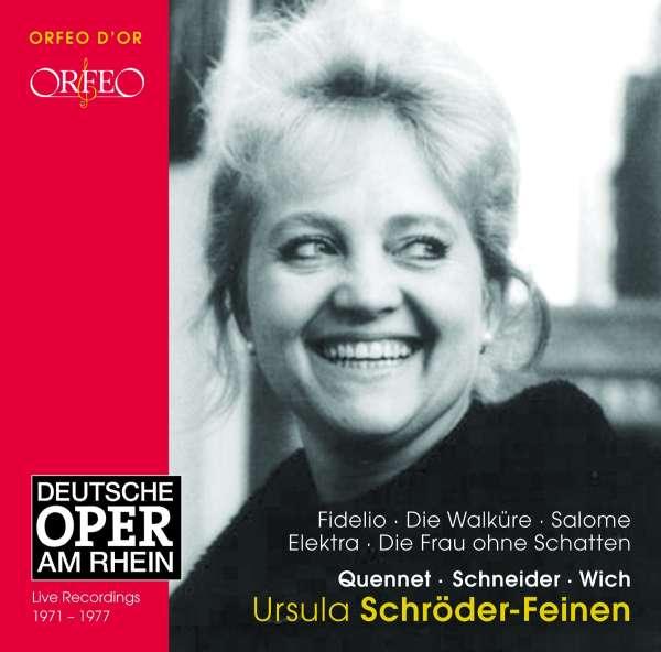 <b>Ursula Schröder</b>-Feinen singt Arien - 4011790599120