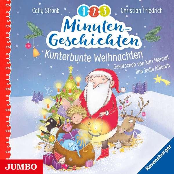 1 Weihnachten.Ahlborn Jodie Menrad Karl 1 2 3 Minutengeschichten Kunterbunte Weihnachten