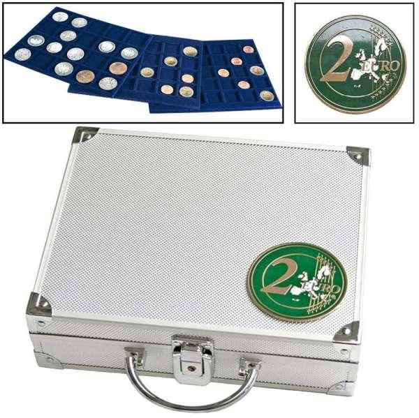 Alu Münzkoffer Für 2 Euro Münzen Diverse Jpc