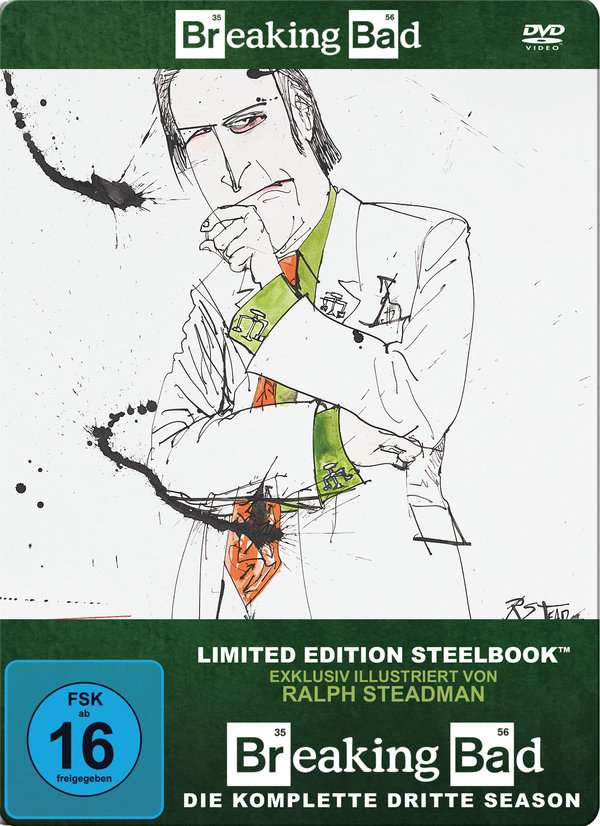 Breaking Bad Season 3 Steelbook 4 Dvds Jpc