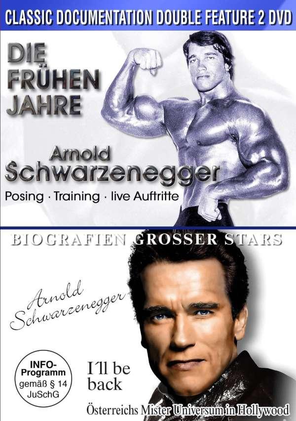 arnold schwarzenegger die frhen jahre ill be back die biografie 2 dvds jpc - Arnold Schwarzenegger Lebenslauf