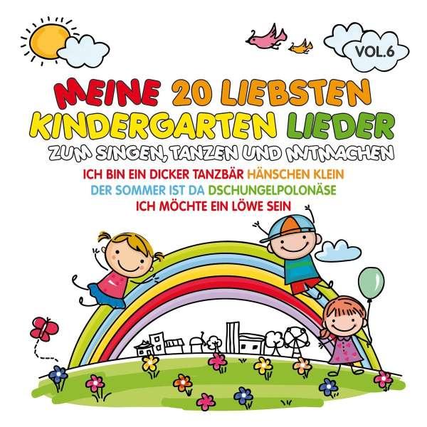 Meine 20 Liebsten Kindergarten Lieder Vol6 Cd Jpc
