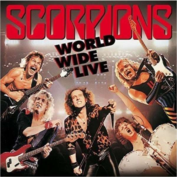 Scorpions: World Wide Live - 50th Anniversary Deluxe Editions ...