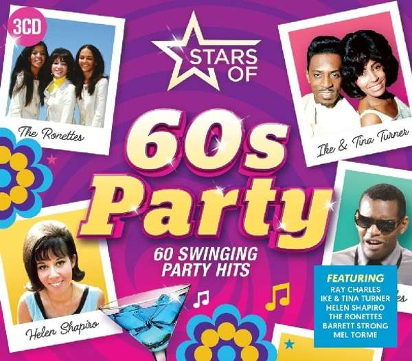 stars of 60s party 2018 3 cds jpc