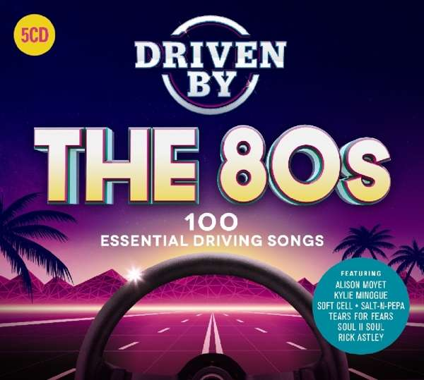 Driven By The 80s 100 Essential Driving Songs Auf 5 CDs
