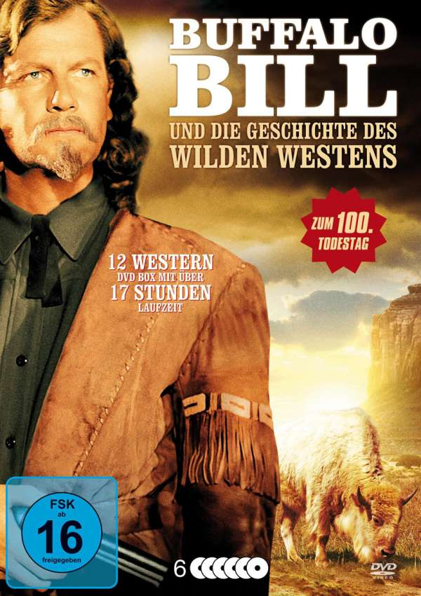 Buffalo Bill und die Geschichte des Wilden Westens (12 Filme auf 6 ...