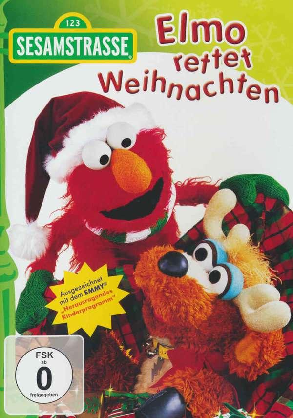 Sesamstrasse Elmo Rettet Weihnachten Dvd Jpc