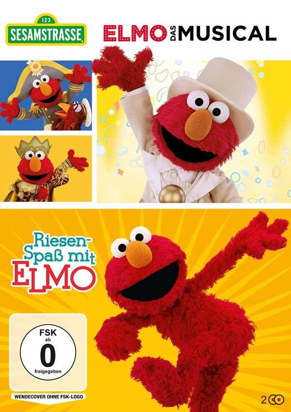 Sesamstrasse Elmo Das Musical Riesenspaß Mit Elmo 2 Dvds Jpc