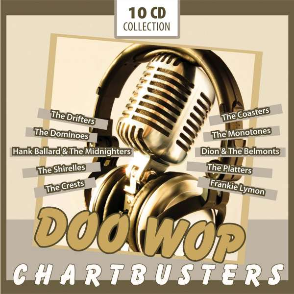 doo wop chartbusters box set 10 cds jpc. Black Bedroom Furniture Sets. Home Design Ideas