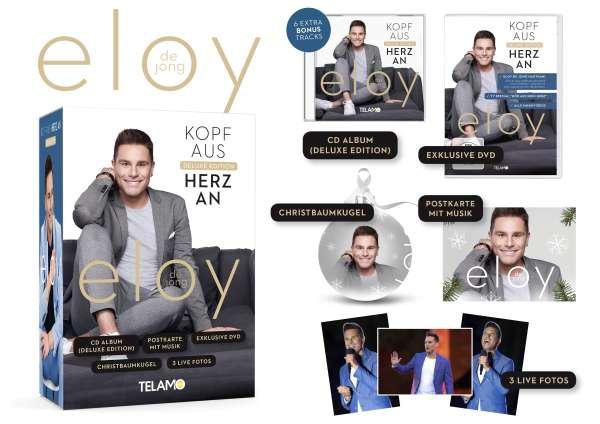 Eloy De Jong Kopf Aus Herz An Deluxe Edition Fanbox Cd Jpc
