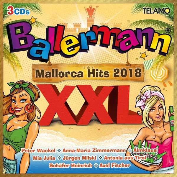 Ballermann Xxl Mallorca Hits 2018 3 Cds Jpc