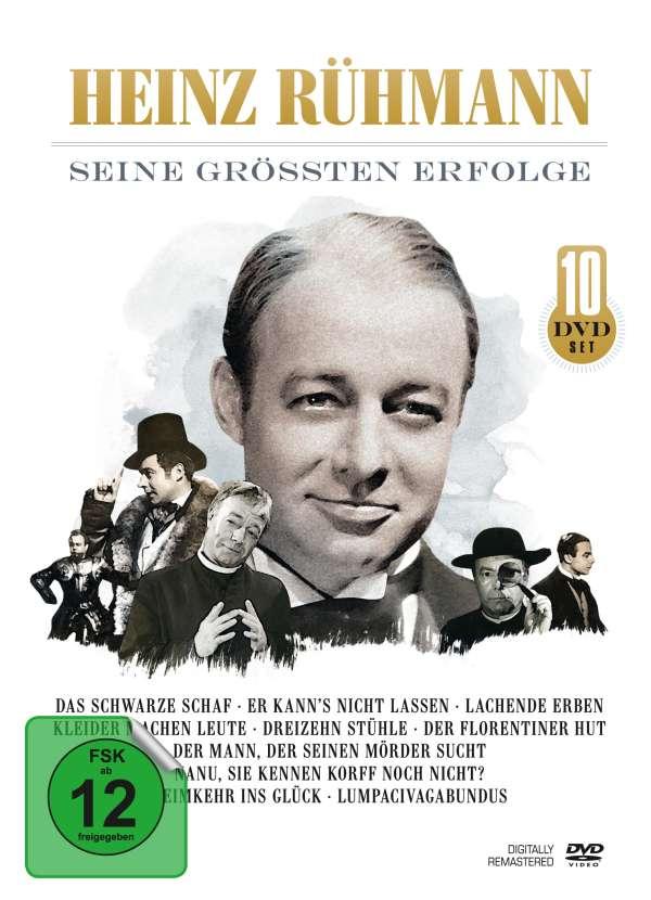 Heinz Rühmann Seine Größten Erfolge 10 Dvds Jpc