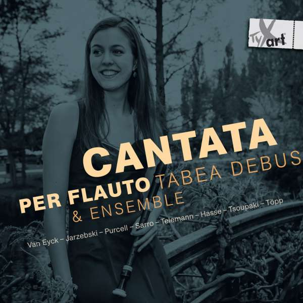 Tabea Debus - Cantata Per Flauto, CD