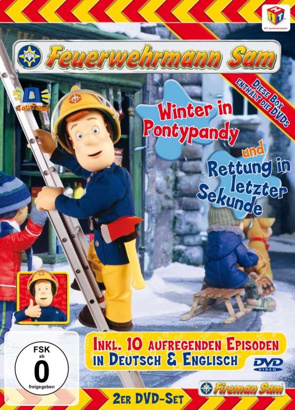 Feuerwehrmann Sam Box 3 2 Dvds Jpc