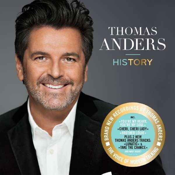 Thomas Anders History 180g Limited Edition 2 Lps Jpc
