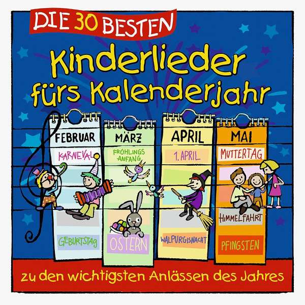 Die 30 Besten Kinderlieder Furs Kalenderjahr Cd Jpc
