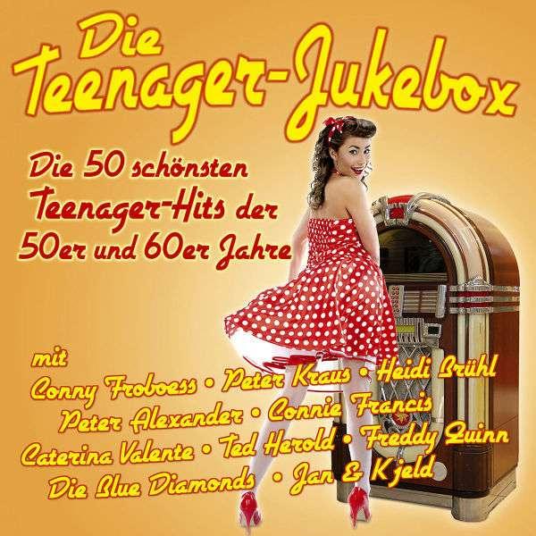 die teenager jukebox 50 hits der 50er 60er jahre 2 cds jpc. Black Bedroom Furniture Sets. Home Design Ideas
