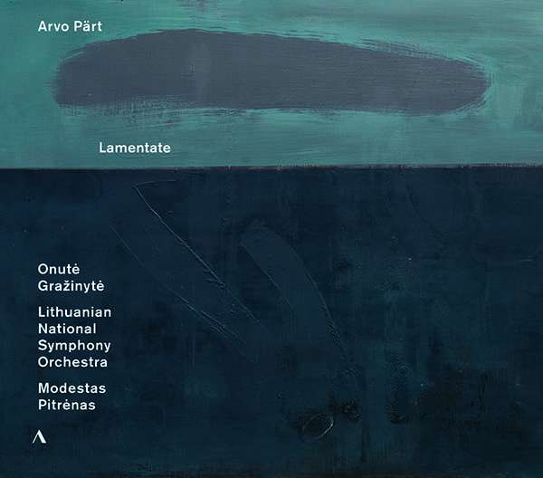 Arvo Pärt: Lamentate für Klavier & Orchester (CD) – jpc