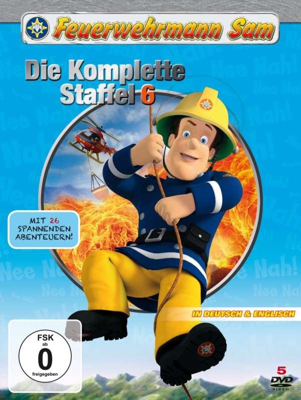 feuerwehrmann sam  die komplette staffel 6 5 dvds  jpc