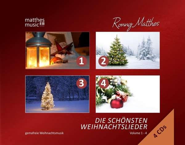 ronny matthes die sch nsten weihnachtslieder vol 1 4. Black Bedroom Furniture Sets. Home Design Ideas