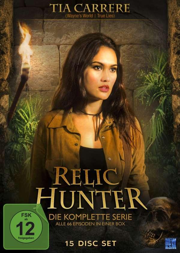 Relic Hunter Komplette Serie 15 Dvds Jpc