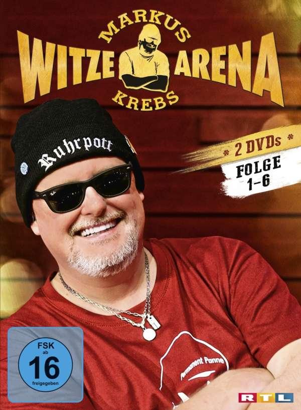 Markus Krebs Witzearena Folge 1 6 2 Dvds Jpc